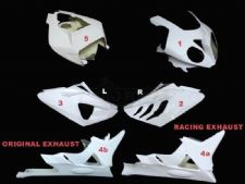 BMW, S 1000 RR, 09-11 / Complete set 5-pieces Street